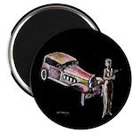 Vintage style art on Magnet