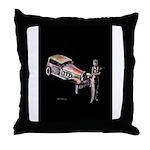 Vintage style art on Throw Pillow