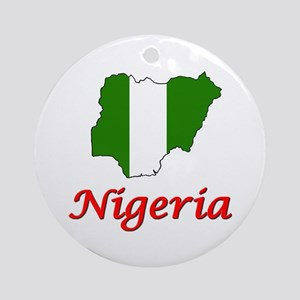 Nigeria Goodies Ornament (Round)