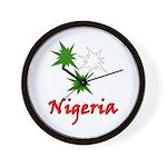 Nigeria Goodies Wall Clock