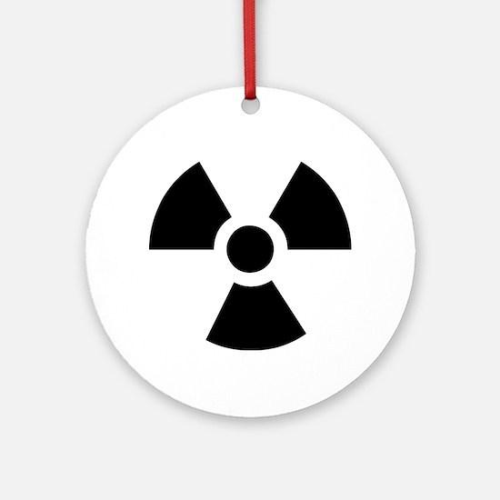 Radioactive Symbol Ornament (Round)