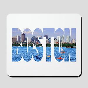 Boston Back Bay Skyline Mousepad
