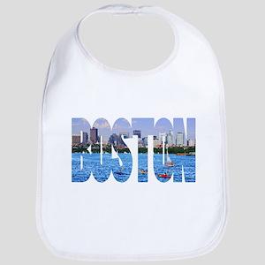 Boston Back Bay Skyline Bib