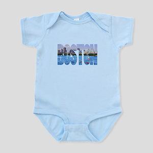 Boston Back Bay Skyline Infant Bodysuit