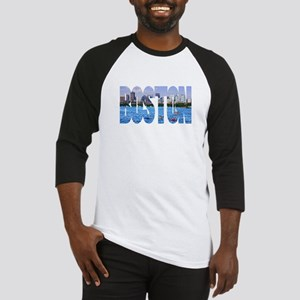 Boston Back Bay Skyline Baseball Jersey