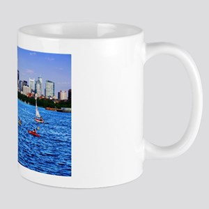Boston Back Bay Skyline Charles River Mug