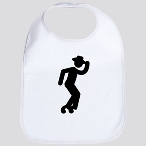 Moonwalking Bib