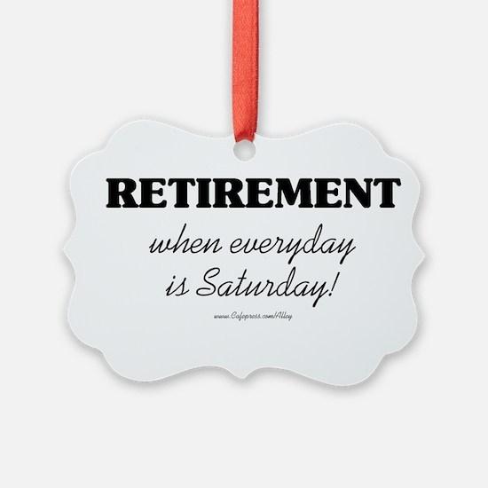 Unique Retirement Ornament