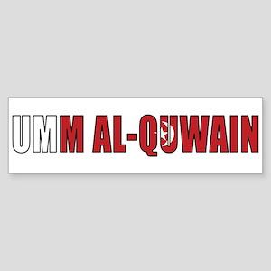 Umm al-Quwain Bumper Sticker