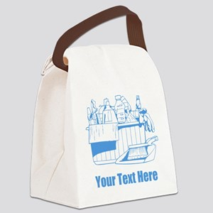 Cleaning things. Canvas Lunch Bag