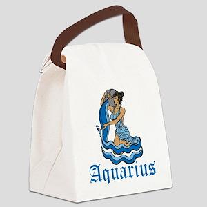 Aquarius Canvas Lunch Bag