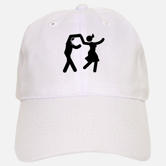 Swing Dancing Baseball Baseball Cap