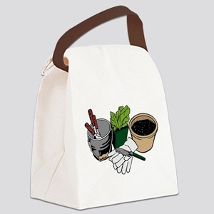 Gardening Canvas Lunch Bag