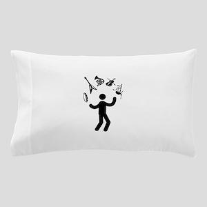 Versatile Musician Pillow Case
