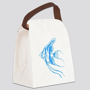 Angelfish. Tropical Fish. Canvas Lunch Bag
