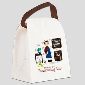 anatomyforcolor Canvas Lunch Bag
