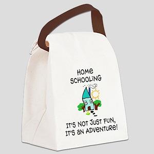 Homeschool Adventure Canvas Lunch Bag