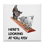 Cute Goat Tile Coaster