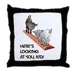 Cute Goat Throw Pillow