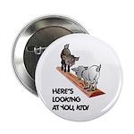 Cute Goat Button