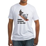 Cute Goat Fitted T-Shirt