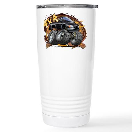 Black Ranger Stainless Steel Travel Mug
