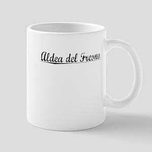 Aldea del Fresno, Aged, Mug