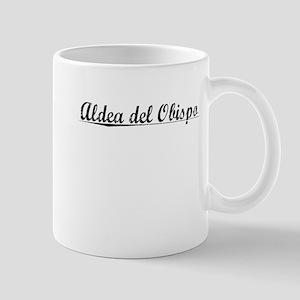 Aldea del Obispo, Aged, Mug