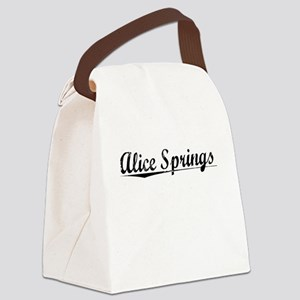 Alice Springs, Aged, Canvas Lunch Bag