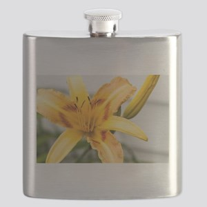 Yellow-Red Lily Flask