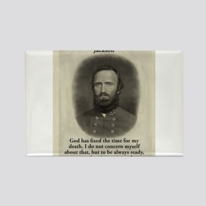 God Has Fixed The Time - Stonewall Jackson Magnets