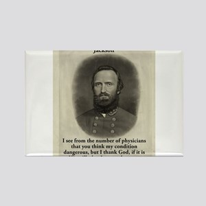 I See From The Number - Stonewall Jackson Magnets