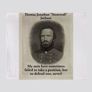 My Men Have Sometimes Failed - Stonewall Jackson T