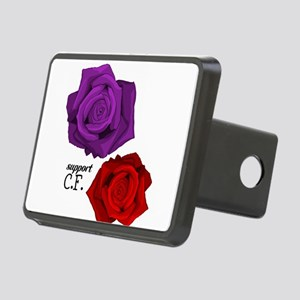 Support C.F. Rectangular Hitch Cover
