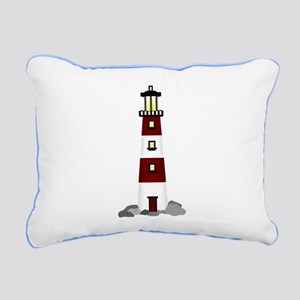 Lighthouse Rectangular Canvas Pillow
