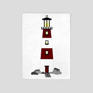 Lighthouse 5'x7'Area Rug