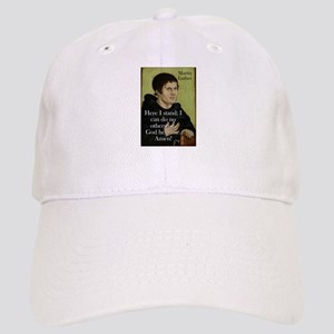 Here I Stand - Martin Luther Baseball Cap