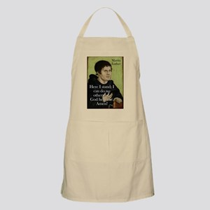 Here I Stand - Martin Luther Light Apron