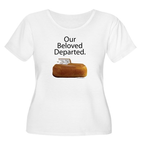 Our Beloved Departed Women's Plus Size Scoop Neck