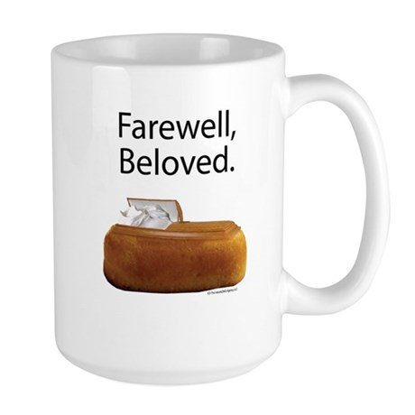 Farewell, Beloved. Large Mug