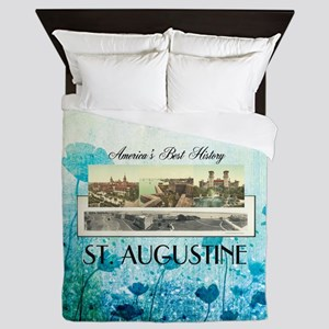 St. Augustine Americasbesthistory.com Queen Duvet
