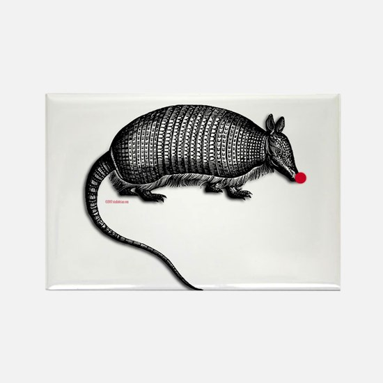 armadillo.png Rectangle Magnet