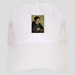 I Cannot And Will Not - Martin Luther Baseball Cap