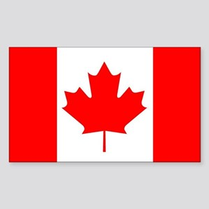 Canada Rectangle Sticker