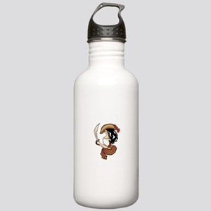 Pirate Hooker (Black) Stainless Water Bottle 1.0L