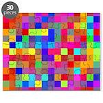 Rainbow Pixels Pattern Puzzle