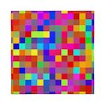 Rainbow Pixels Pattern Queen Duvet