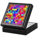 Rainbow Pixels Pattern Keepsake Box