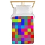 Rainbow Pixels Pattern Twin Duvet