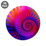 Pink Rainbow Fractal Pattern 3.5
